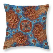 Assimilation In Progress Throw Pillow