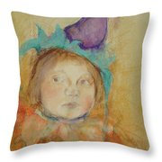 At The Party Throw Pillow