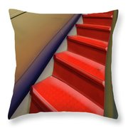 At The Top Throw Pillow by Paul Wear