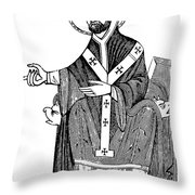 Augustine Of Hippo Throw Pillow