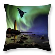 Auroral Splendour For The Vulcan Throw Pillow