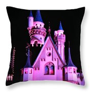 Aurora's Castle Throw Pillow