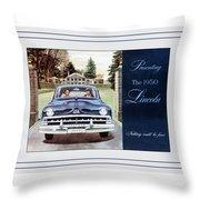 Automotive Art 70 Throw Pillow