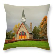 Autumn At Grand Pre Throw Pillow