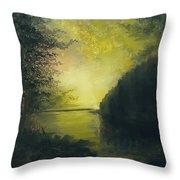 Autumn Evening Throw Pillow