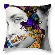 Autumn Head Throw Pillow