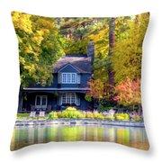 Autumn House Canvas Print, Photographic Print, Art Print, Framed Print, Greeting Card, Iphone Case, Throw Pillow by David Millenheft