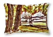Autumn In Doughton Ap Throw Pillow