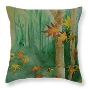 Autumn Leaves - #1 Throw Pillow