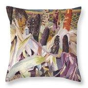 Autumn Maize Throw Pillow