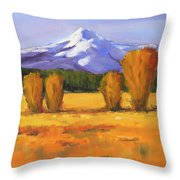 Autumn Mountain Throw Pillow