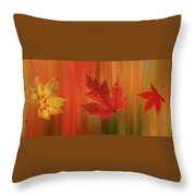 Autumn Spirit Panoramic Throw Pillow