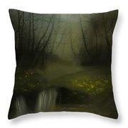 Autumn Twilight Throw Pillow