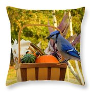 Autumn's Bounty Throw Pillow
