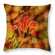 Autumn's Glow 2 Throw Pillow