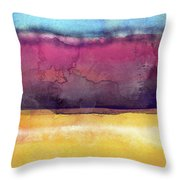 Awakened 6- Art By Linda Woods Throw Pillow
