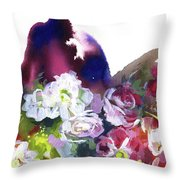 Awakening Of Nature. Throw Pillow