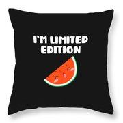 Awesome Im Limited Edition Throw Pillow