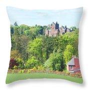 Ayton Castle Throw Pillow