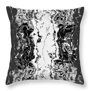 B W Iner Throw Pillow