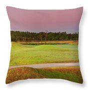 Back From Twelve Throw Pillow