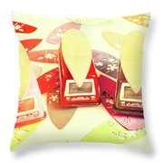 Back To The Beach Throw Pillow