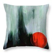 Bad Moon Arising  Throw Pillow