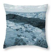 Badlands Shadow Grandeur Throw Pillow