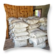 Bags Of Flour Milled In The Steam Powered Flour Mill Photograph By