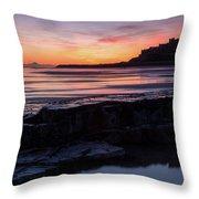 Bamburgh Castle Bam0031 Throw Pillow