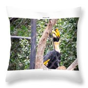 Banana Bill Throw Pillow