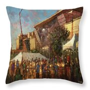 Band Together 2018 Throw Pillow