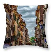 Bandiera D'italia Throw Pillow