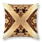 Bark Curls Throw Pillow