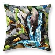 Bash Bish Falls - 3 Throw Pillow