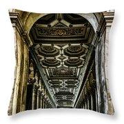 Basilica Papale Di San Paolo Fuori Le Mura Throw Pillow