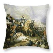 Bataille De Rivoli, 1797 Throw Pillow
