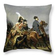 Bataille D'iena Throw Pillow