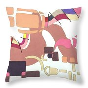 Battlefield Throw Pillow