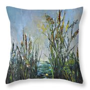 Bays Of The River Throw Pillow