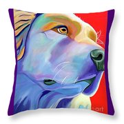 Be Golden Throw Pillow