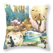 Beach Envy Throw Pillow