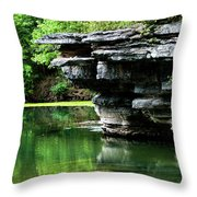 Bear Springs Throw Pillow