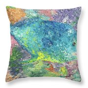 Beauty Of The Reef Throw Pillow