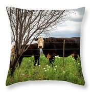 Beautiful Confinement  Throw Pillow