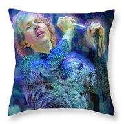 Beck Singer Songwriter Throw Pillow