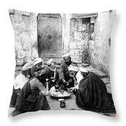 El Bireh Feast Throw Pillow