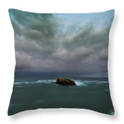 Before Storm.  Throw Pillow
