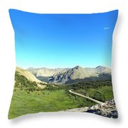Before The Climb Throw Pillow