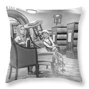 Beginning Of The Next Fairy Tale Throw Pillow
